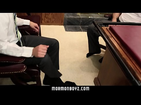 MormonBoyz-Young Stud Inspected And Fucked By Older Leader