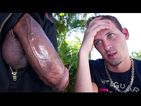 GAYWIRE – Scared Little Logan White Faces Castro Supreme's Big Black Dick